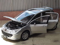 Peugeot 307 - Paudi Models 1/18