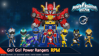 Download Power Rangers Dash Apk