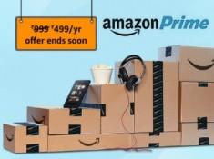 LAST DAY To Take Prime at Rs. 499 : Amazon Prime Will Be Rs. 999