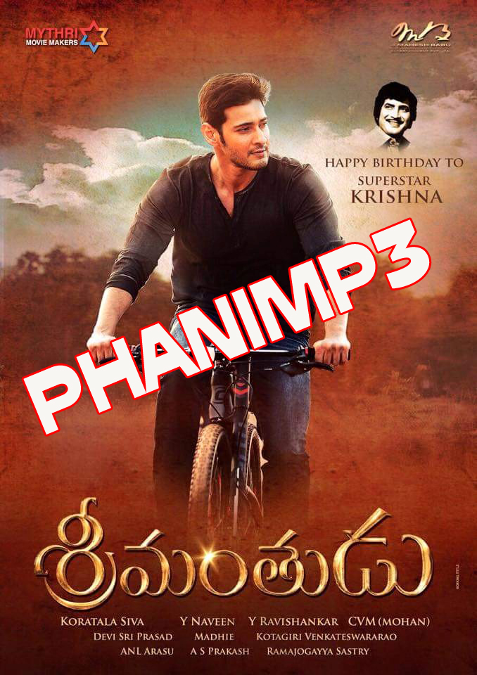 Learn These Srimanthudu (2015) Hindi Dubbed Movie Free Hd