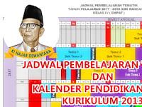 KALDIK SD/MI KURIKULUM 2013 TAHUN PELAJARAN 2018-2019