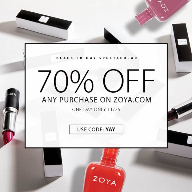 ZOYA Black Friday Preview