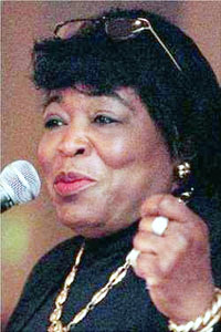 Who was Betty Shabazz?