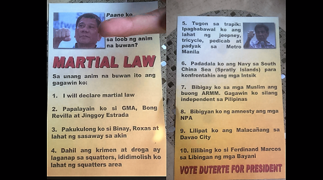 BEWARE: Another black propaganda against Duterte is circulating!