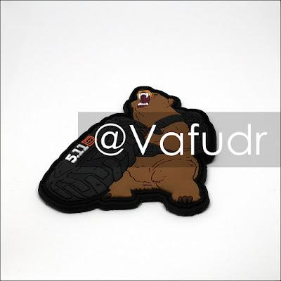 Bear 5.11 tactical patch