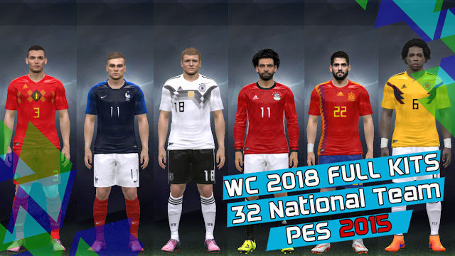 World Cup Russia 2018 Kitpack PES 2015