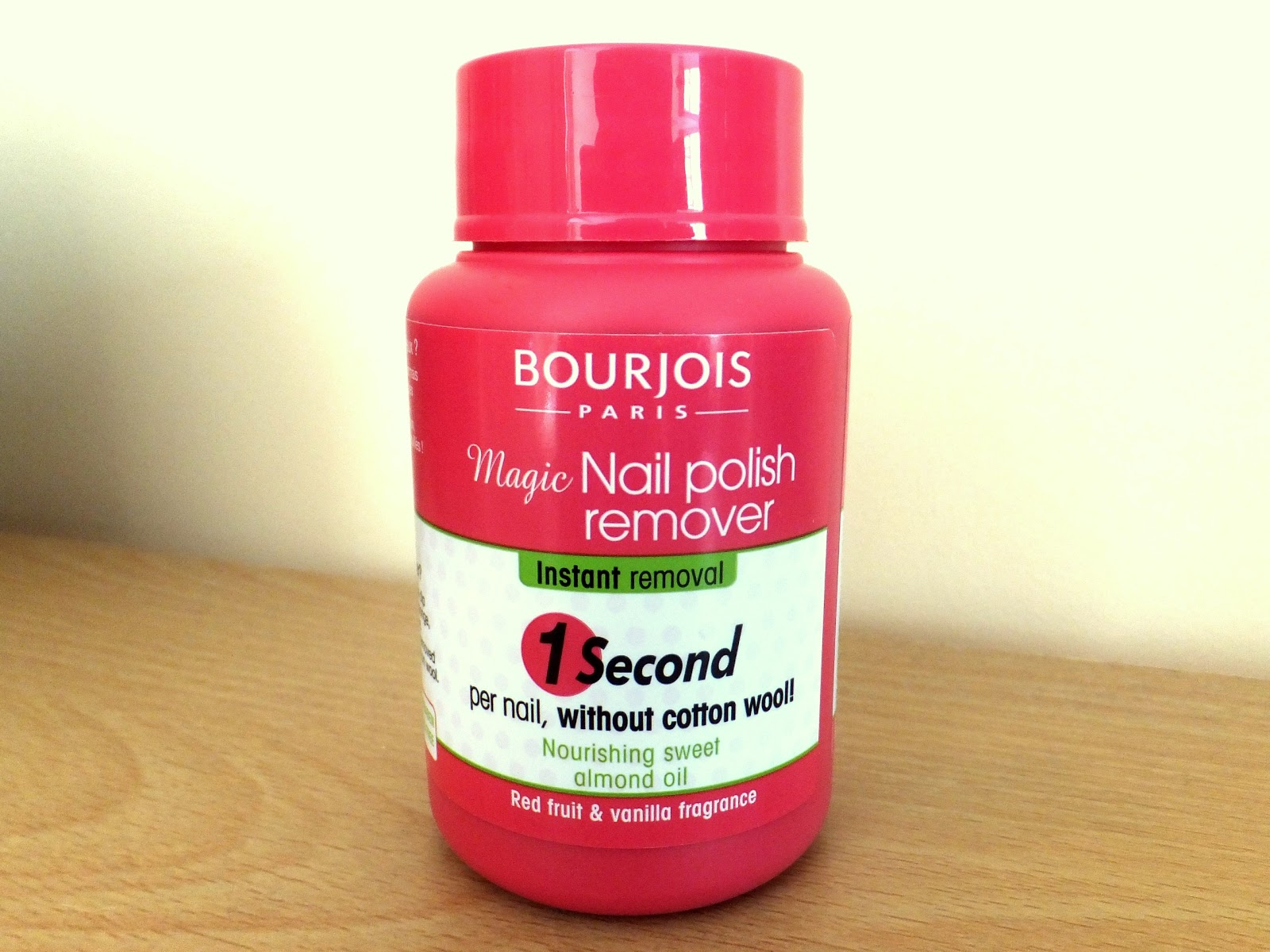 Ditzy Glamour Review Bourjois Magic Nail Polish Remover