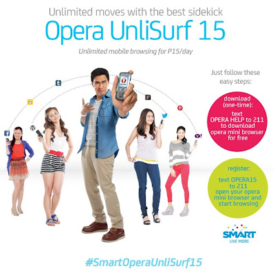 Smart Opera UnliSurf 15