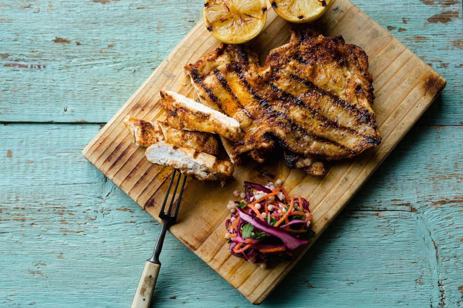 Chargrilled Paprika Lemon Chicken: BBQ Ideas