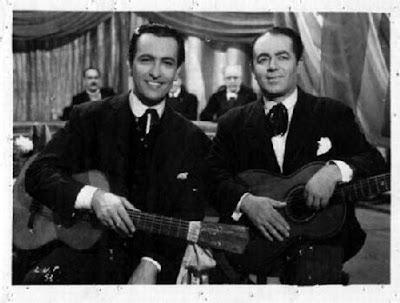 Hugo Del Carril y Lito Bayardo en el Ultimo payador