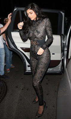 Like Kylie Jenner's Naked Lace Jumpsuit?
