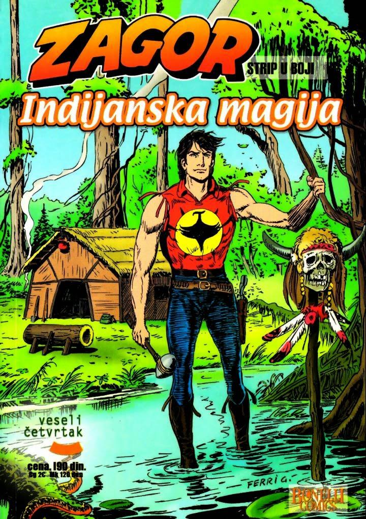 Indijanska Magija (Veseli Cetvrtak) Kolor - Zagor