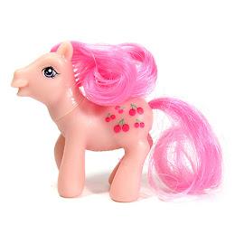 My Little Pony Cherries Jubilee Dolly Mix Series 1 G1 Retro Pony