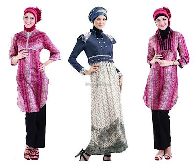Design Desain Baju Muslim Modern Terbaru