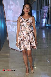 Actress Madhu Shalini Stills in Floral Short Dress at RGV Shiva to Vangaveeti Event  0148.JPG