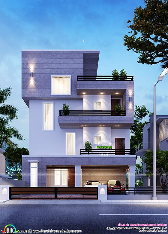 Simple modern home in Bangalore