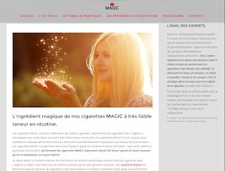 Cigarette à très bas taux de nicotine