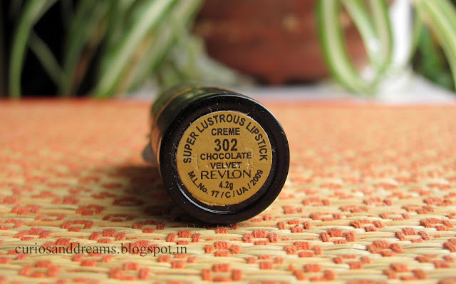 Revlon Super Lustrous Lipstick Chocolate Velvet : Review