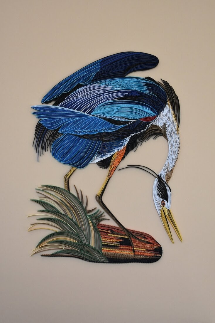 07-Dancing-Blue-Heron-Tatiana-People-and-Animal-Portraits-plus-Flower-Quilling-www-designstack-co