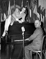 Bacall and Truman, 1945