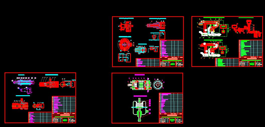 bản vẽ hệ thống nhiên liệu động cơ G6EAGSL2.7