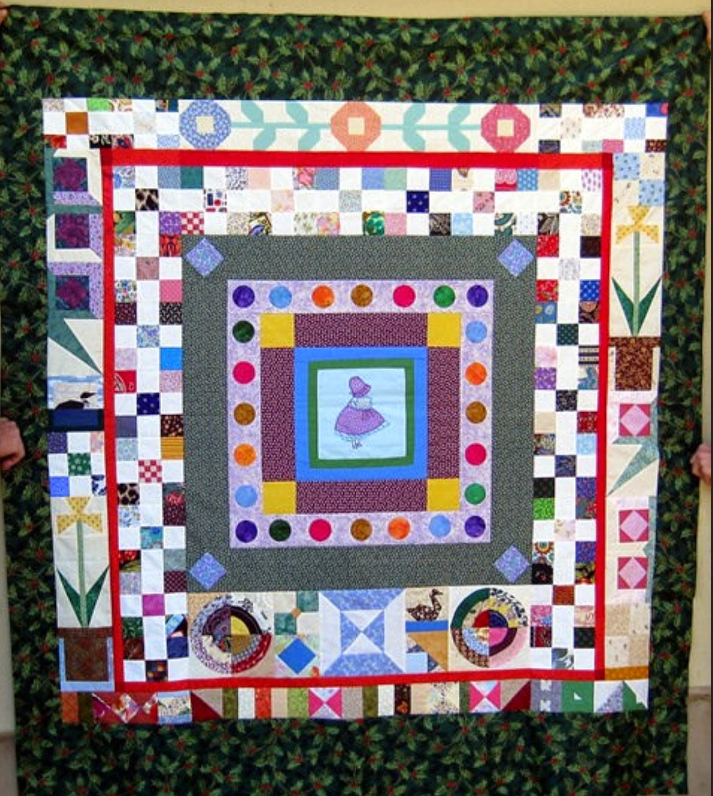 Happy Scrappy Orphan Block Of The Month Quilt Have You