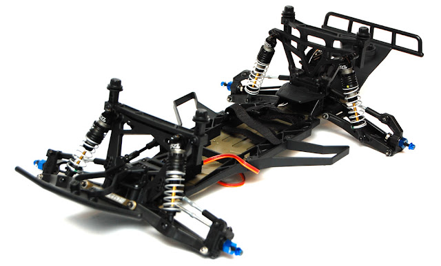 Pro-Line Pro-2 SC chassis build pictures