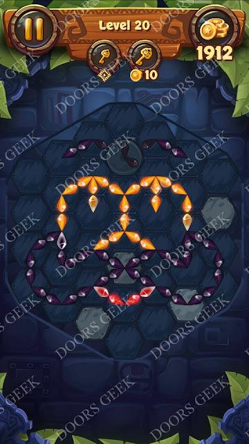 Gems & Magic [Pearl] Level 20 Solution, Walkthrough, Cheats