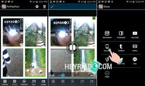 Aplikasi Kolase Video Android