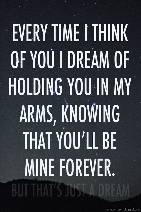 Holding you in my arms