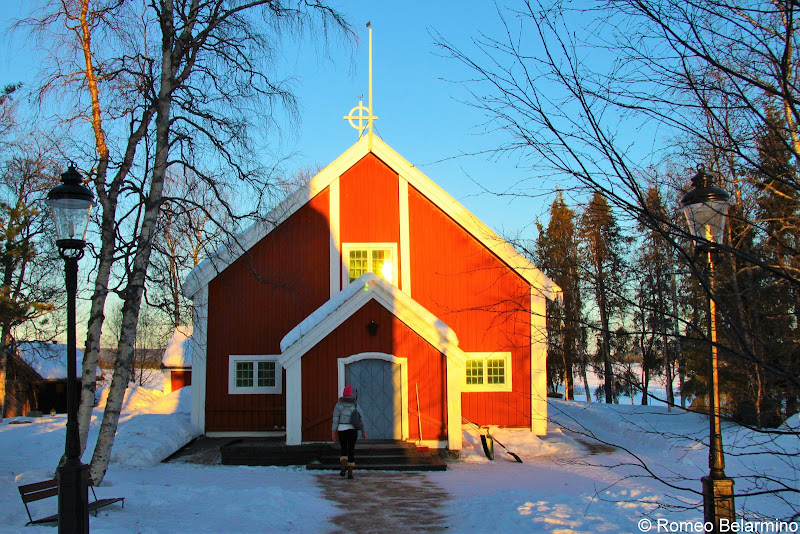 Jukkasjärvi Church Winter Travel Packing List