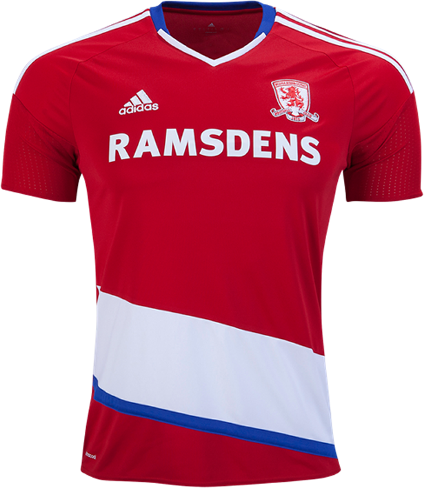 421afe0f3a Adidas divulga as novas camisas do Middlesbrough - Show de Camisas