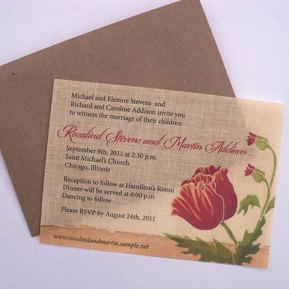 Cheap Shabby Chic Wedding Invitations: My Heritage Home: Shabby Chic Wedding Invitations