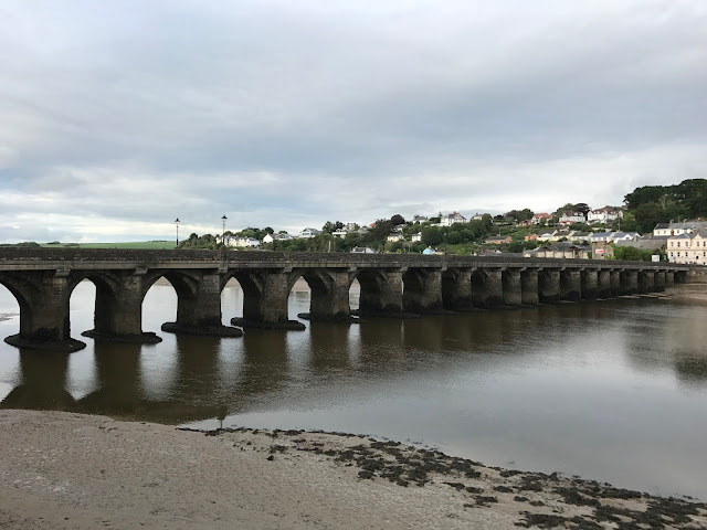 Old Bideford Bridge, Bideford, Devon