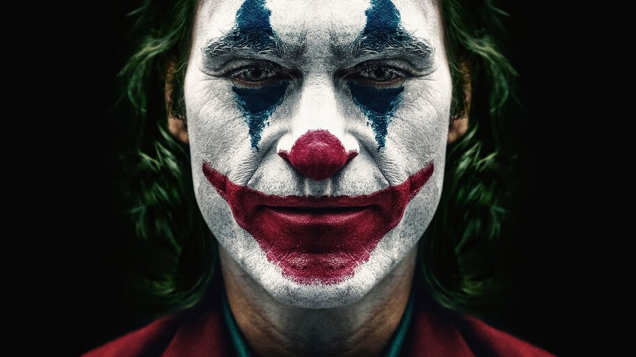 Joker 2019 Joaquin Phoenix Clown Makeup 8k Wallpaper 3957