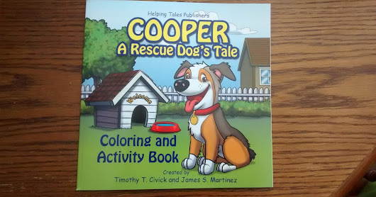Mommy Moments with Abby: Cooper: A Rescue Dog's Tale Review