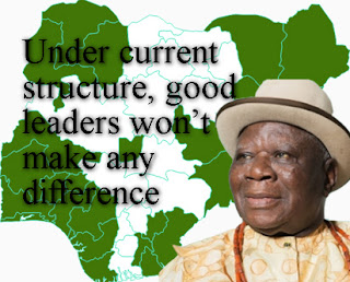 Under current structure, good leaders won't make any difference – E.K. Clark