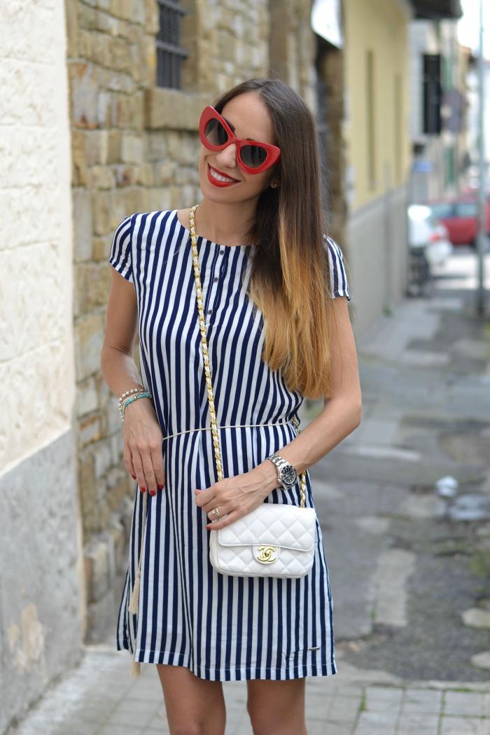 borsa chanel bianca
