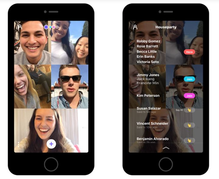 Meerkat lance Houseparty : une application chat vidéo de groupe