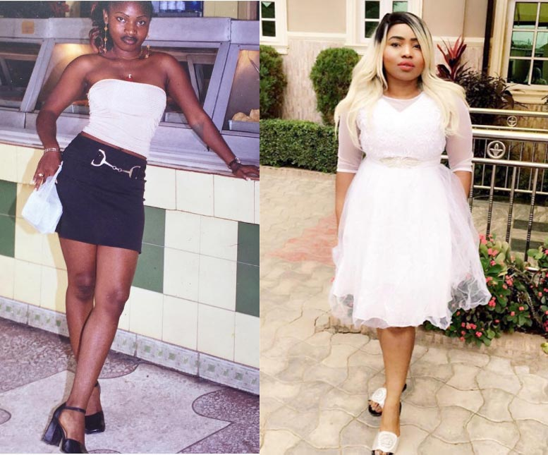 Halima Abubakar caught lying on Instagram. Claims she was 15 years old in this photo