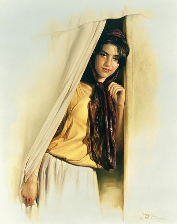 11-A-Young-Girl-Morteza-Katouzian-Oil-Paintings-Created-with-a-lot-of-Heart-www-designstack-co