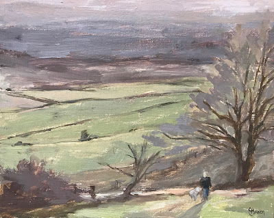 #158 The Chantries, Surrey Hills 9.5×12″