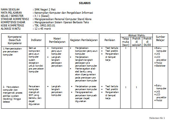Download Rpp Silabus Sd Download Rpp Silabus Pkn Sdmi Berkarakter 582 X 413 Png 27kb Contoh Silabus Adalah Sebagai Berikut