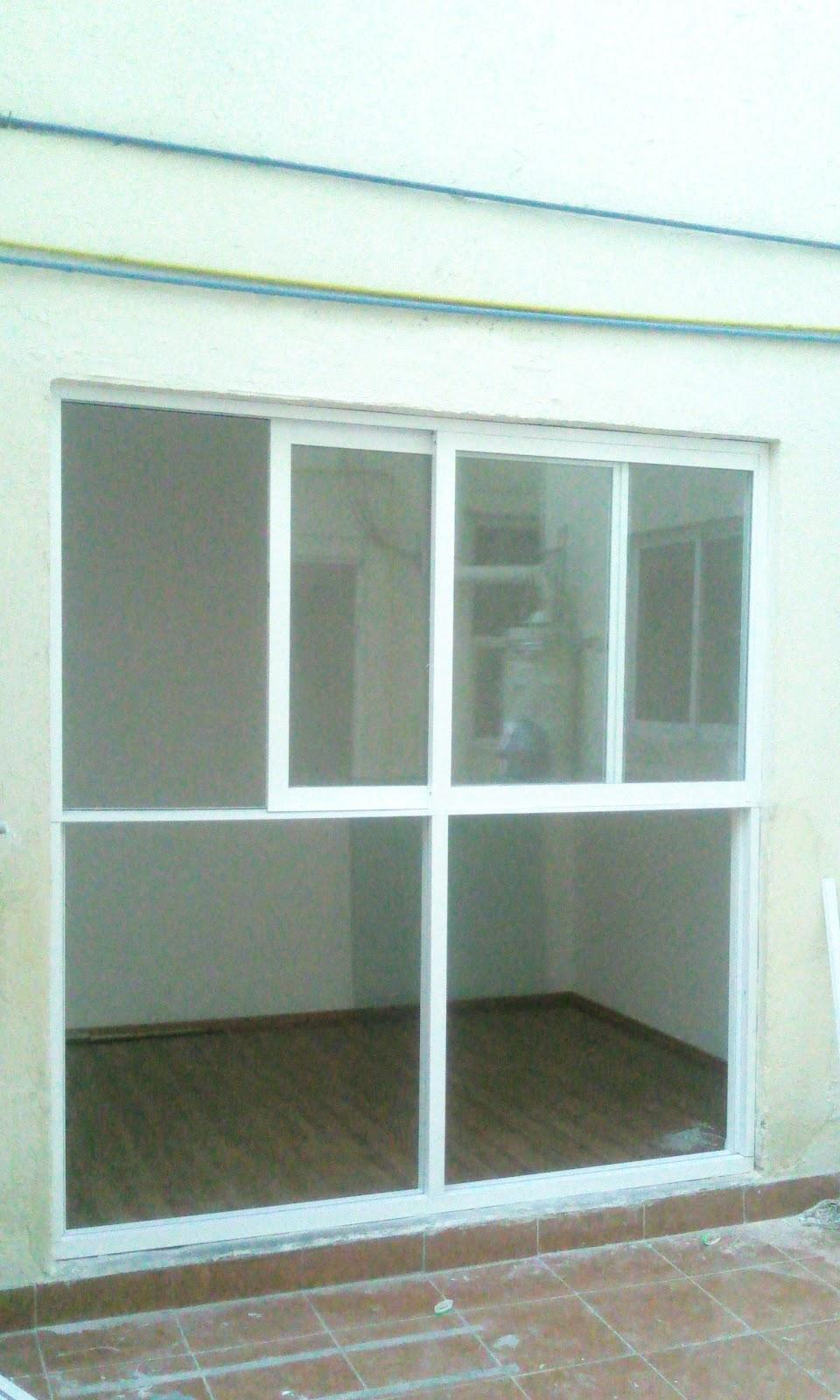 Vidrier a palo solo ventanas for The ventana