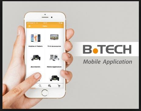 تحميل تطبيق بي تك b.tech  أندرويد و أيفون رابط سريع