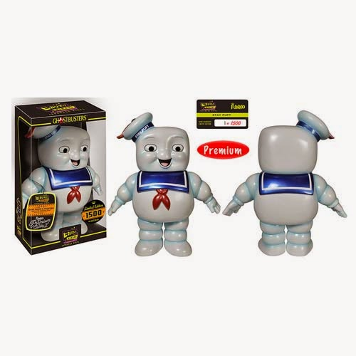 Ghostbusters Stay Puft Marshmallow Man Hikari Sofubi Vinyl Figure by Funko