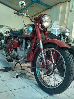 LAPAK MOTOR TUO Bsa 53 full orisinil tgn pertama.monggo...