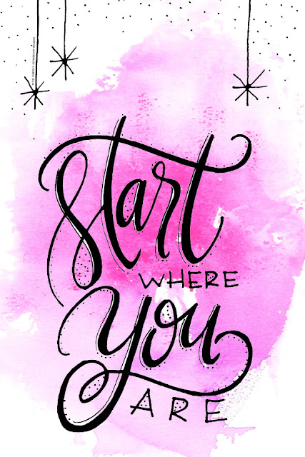 free download, cell phone graphic art, digital cell wallpaper, start where you are