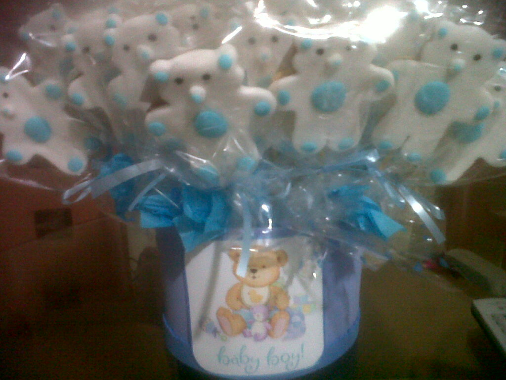 Galletas Decoradas Baby Shower ReposterÍa Luisa Baby Showers