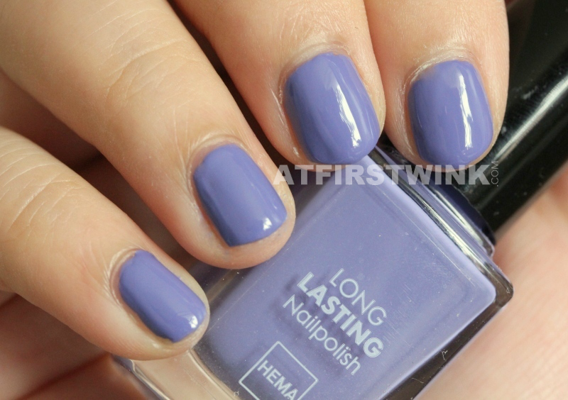 HEMA nail polish 830 - Lavender Purple